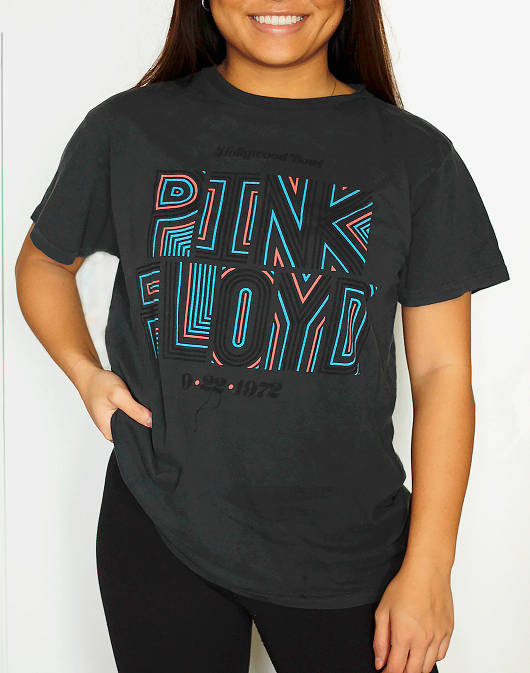 Pink Floyd Hollywood Bowl T Shirt