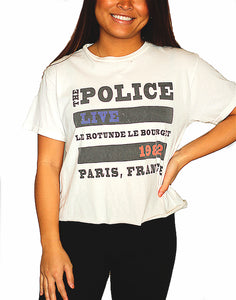 The Police Cut Off T shirt