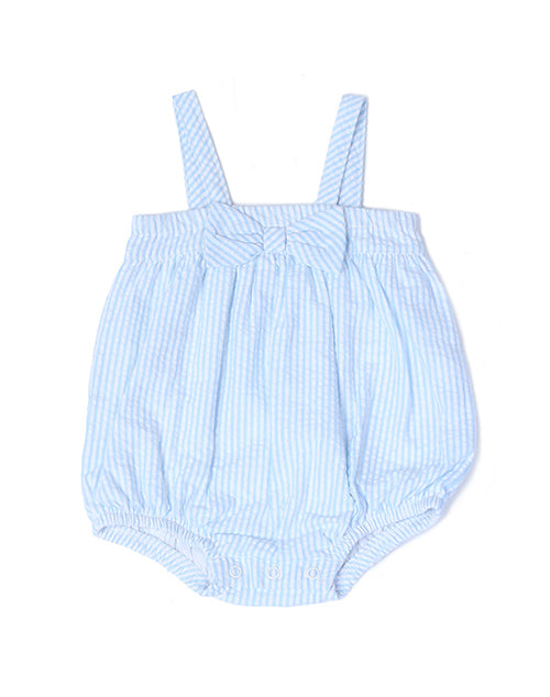 Seersucker Bubble Sunsuit