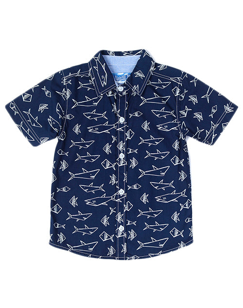 Baby Shark Button Down Shirt