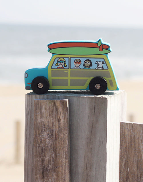 Surfs Up Mini Roller Cars - Woody