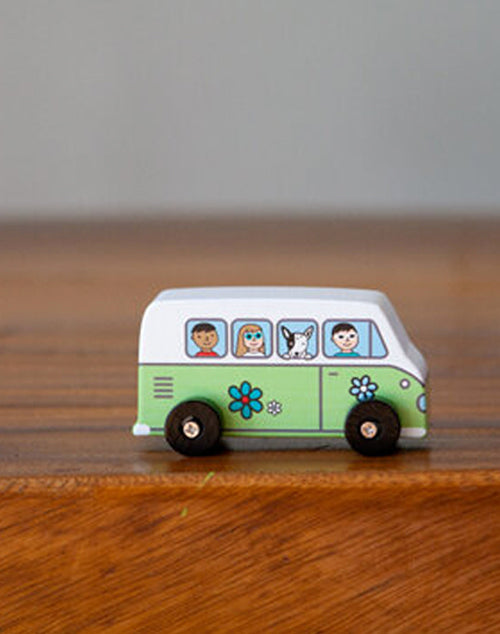 Love Bus Mini Roller Cars - Green