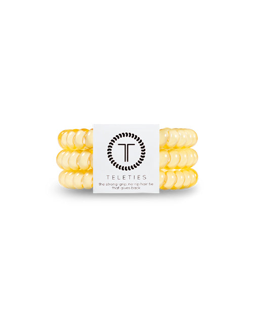 Teleties 3 Pack Small - Buttercup