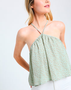 Gazing At The Stars Halter Top