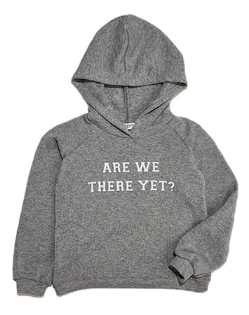 Are We There Yet Kids Hoodie