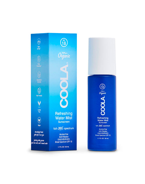 COOLA Refreshing Water Mist SPF 18 1.7oz