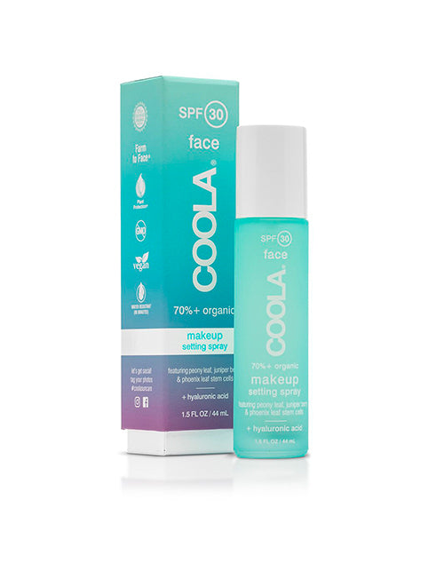 COOLA SPF 30 Classic Makeup Setting Spray 1.5oz