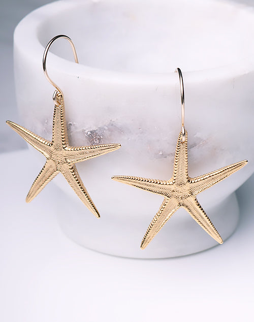 Starfish Large Earring