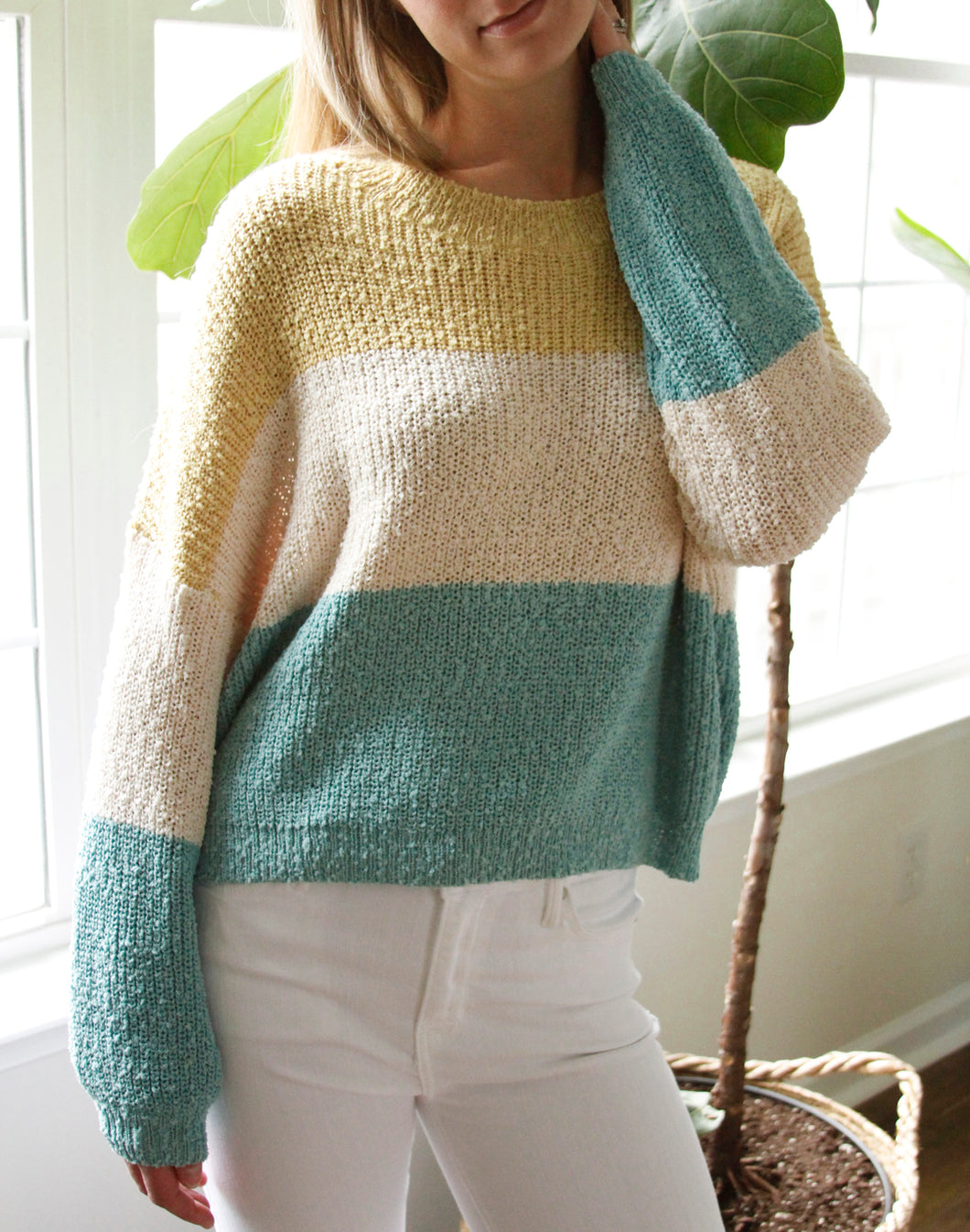 Venice Colorblock Sweater