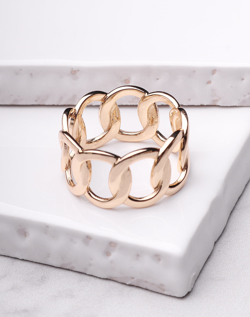 Infinity Chain Link Ring