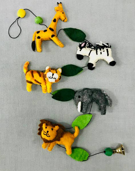 Felt Garland Jungle