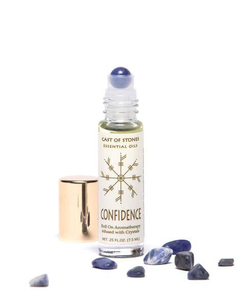 Confidence - Essential Oil Blend Sodalite Stones
