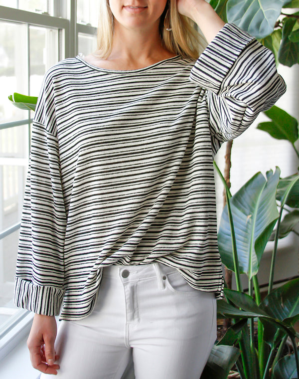 Lawson Stripe Top