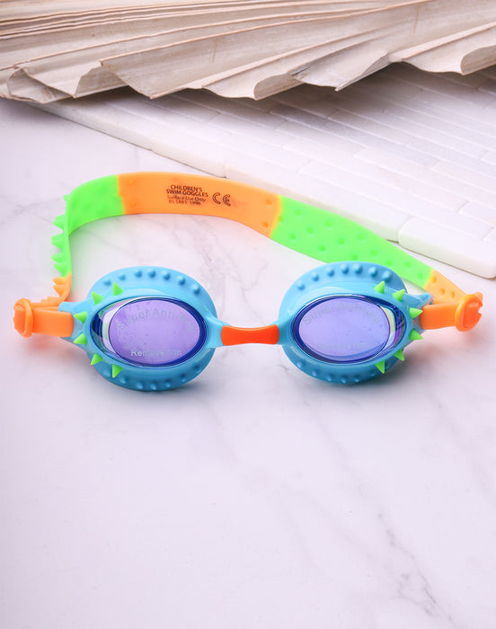 Piranhas Blue Single Style Goggles - Nelly