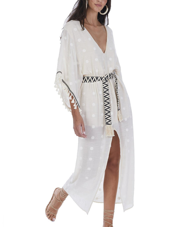Bohemian Luxe Embroidered Kaftan
