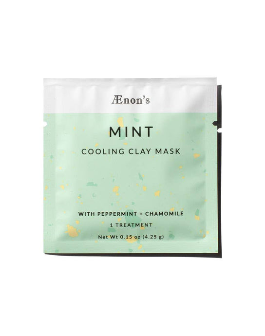 Mint Cooling Clay Mask