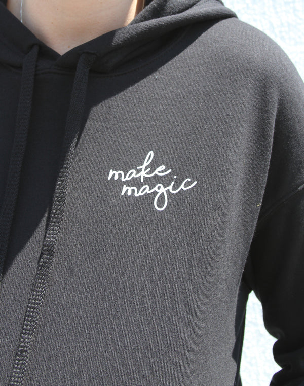 Make Magic Cropped Hoodie