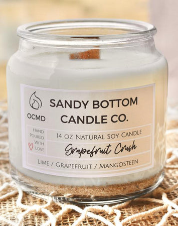 Grapefruit Crush Soy Candle