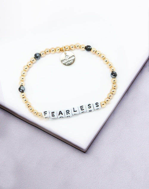 Little Words Project- Fearless Gold Filled