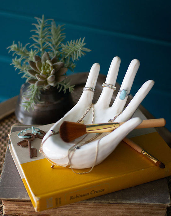 Ceramic Hand Ring Holder