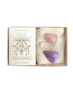 Love And Happiness Stone Set