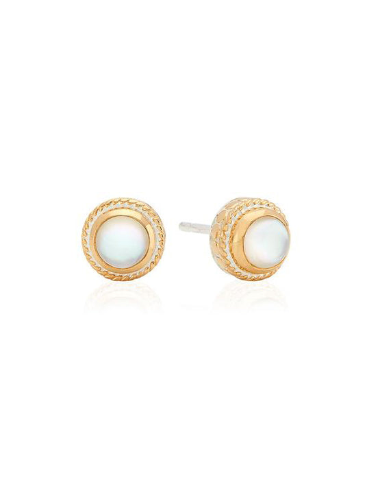 Mother of Pearl Stud Earrings