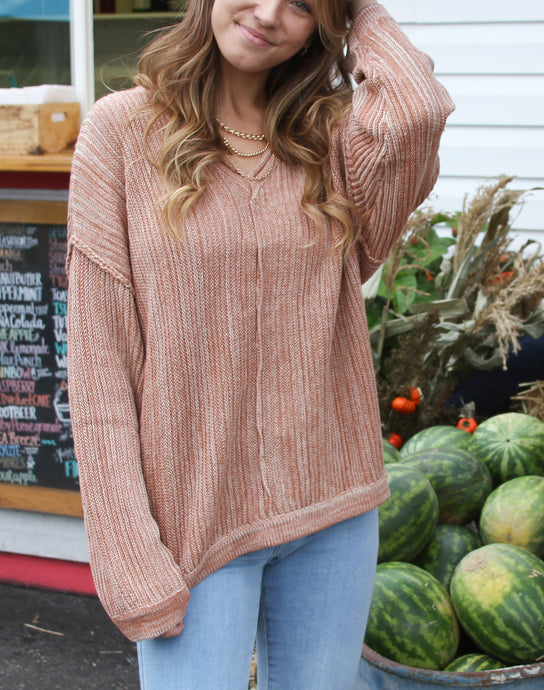 Asher Ribbed Sweater