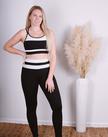 Work It Out Striped Legging