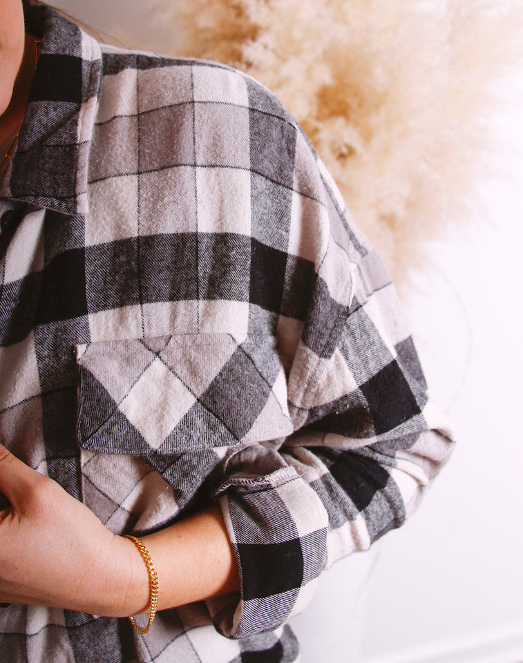 Cool Girl Oversized Flannel