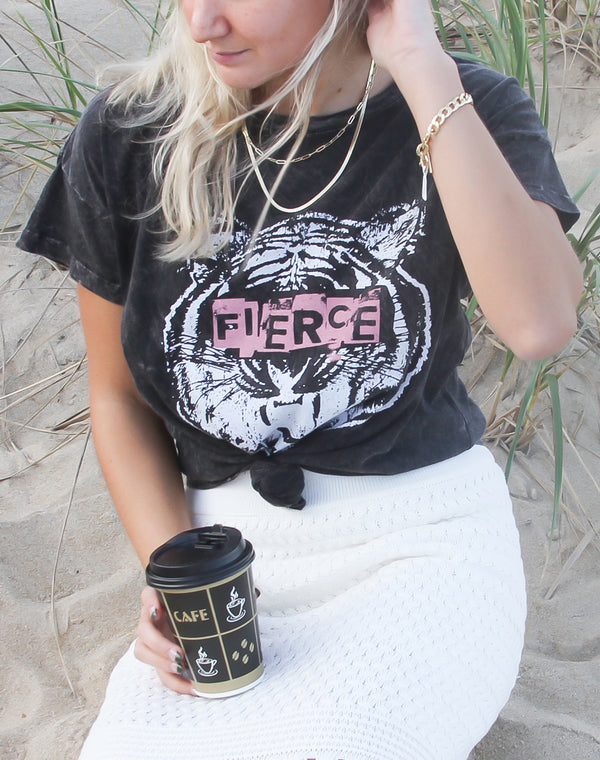 Fierce Tiger Tee Shirt