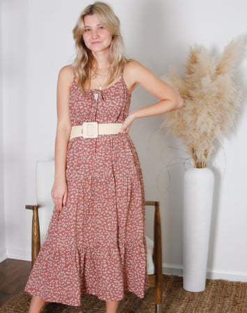 Riley Tiered Maxi Dress