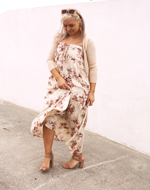 Vienna Hi Lo Maxi Dress