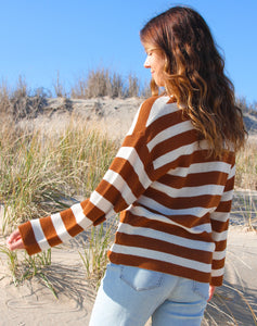 PSL Striped Sweater