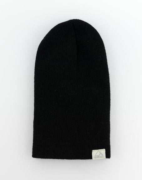 Jet Black Infant/ Toddler Beanie