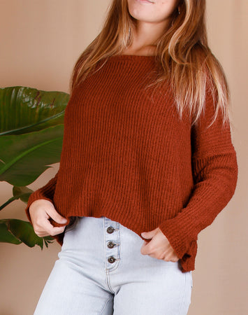 Long Sleeve Pullover Sweater