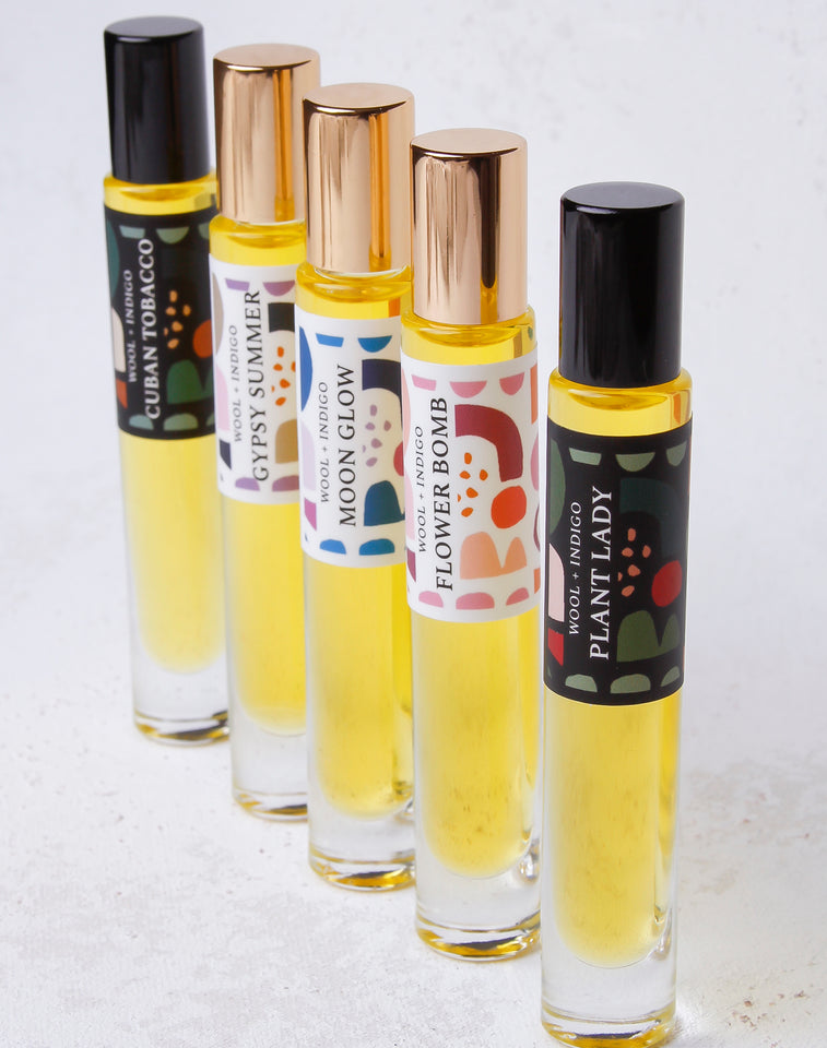 Natural Perfume Roller Oil -   Cuban Tabacco