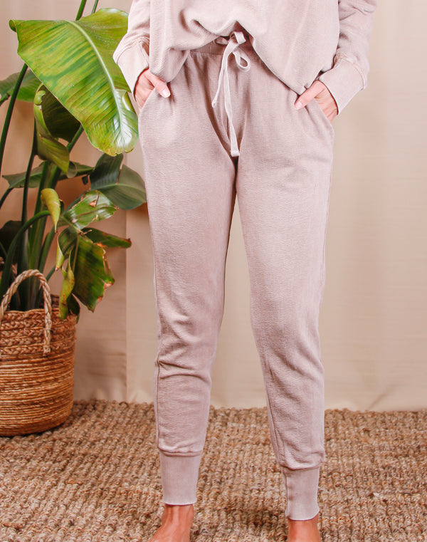 Faye Mineral Wash Sweatpants