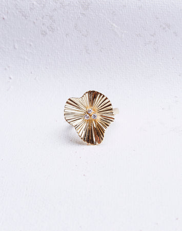 Ripple Flower Ring