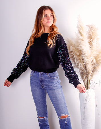 Lucy Sequin Sweater