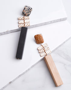 Wood & Stone Dangle