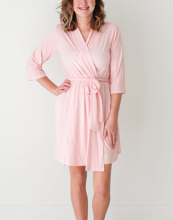 Pink Heather Robe