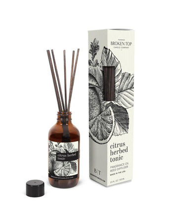Citrus Herbed Tonic- Reed Diffuser