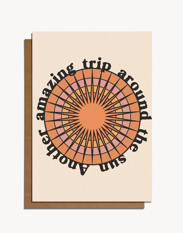 Another Amazing Trip Around The Sun Card