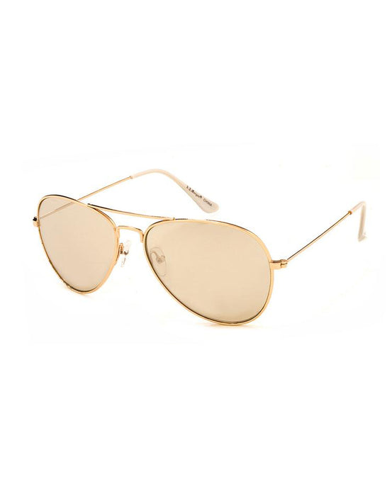 Chris Gold Mirror Sunglasses