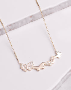 Flutter Fky Necklace