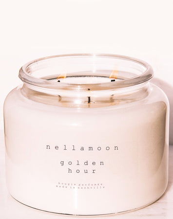 Golden Hour: Mandarin, Bergamont, Amber, Cedarwood, Musk 48 oz Candle