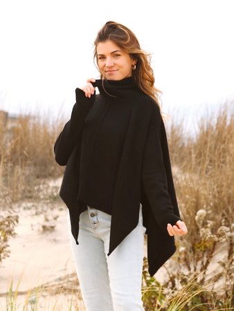 Margo Poncho Sweater