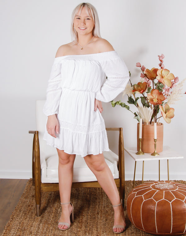 Camden Off Shoulder Dress
