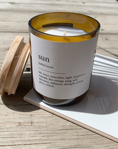 Dictionary Candle - Sun - Mali