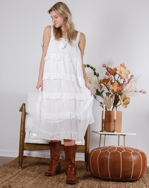 Dreamy Ruffle Dress